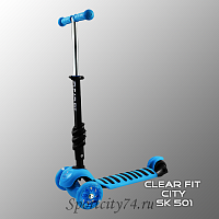 Детский самокат Clear Fit City SK 501 трансформер 5 в 1