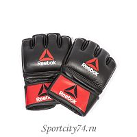 Перчатки для MMA Reebok Combat Leather Glove Small